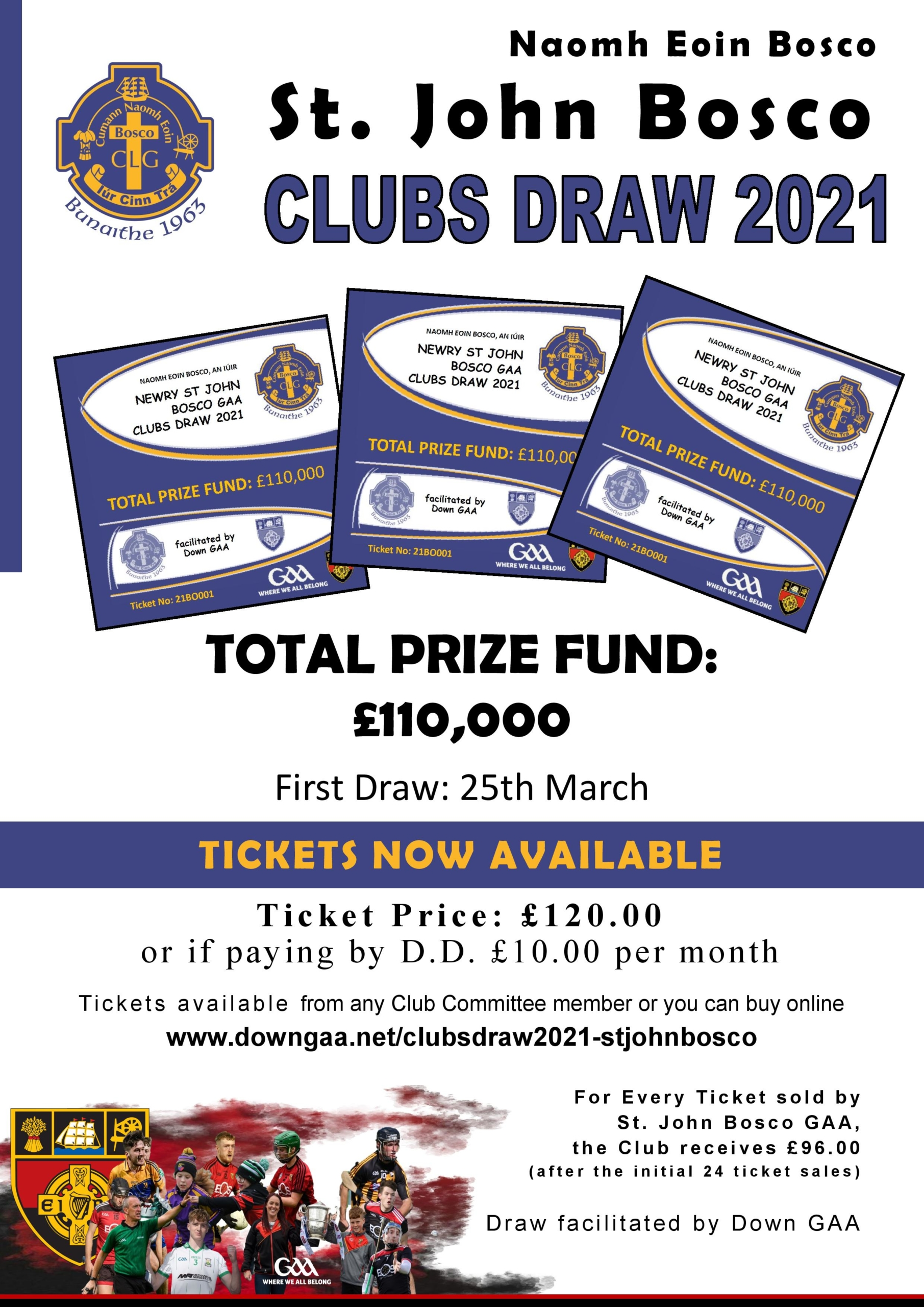 2021 Club Down Tickets